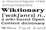 Wiktionary logo