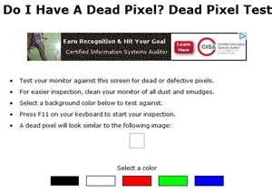 Do I Have a Dead Pixel? logo