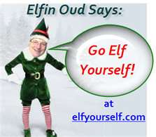 Elf Yourself logo