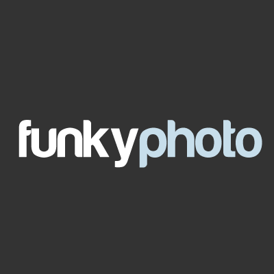 Funky photo logo